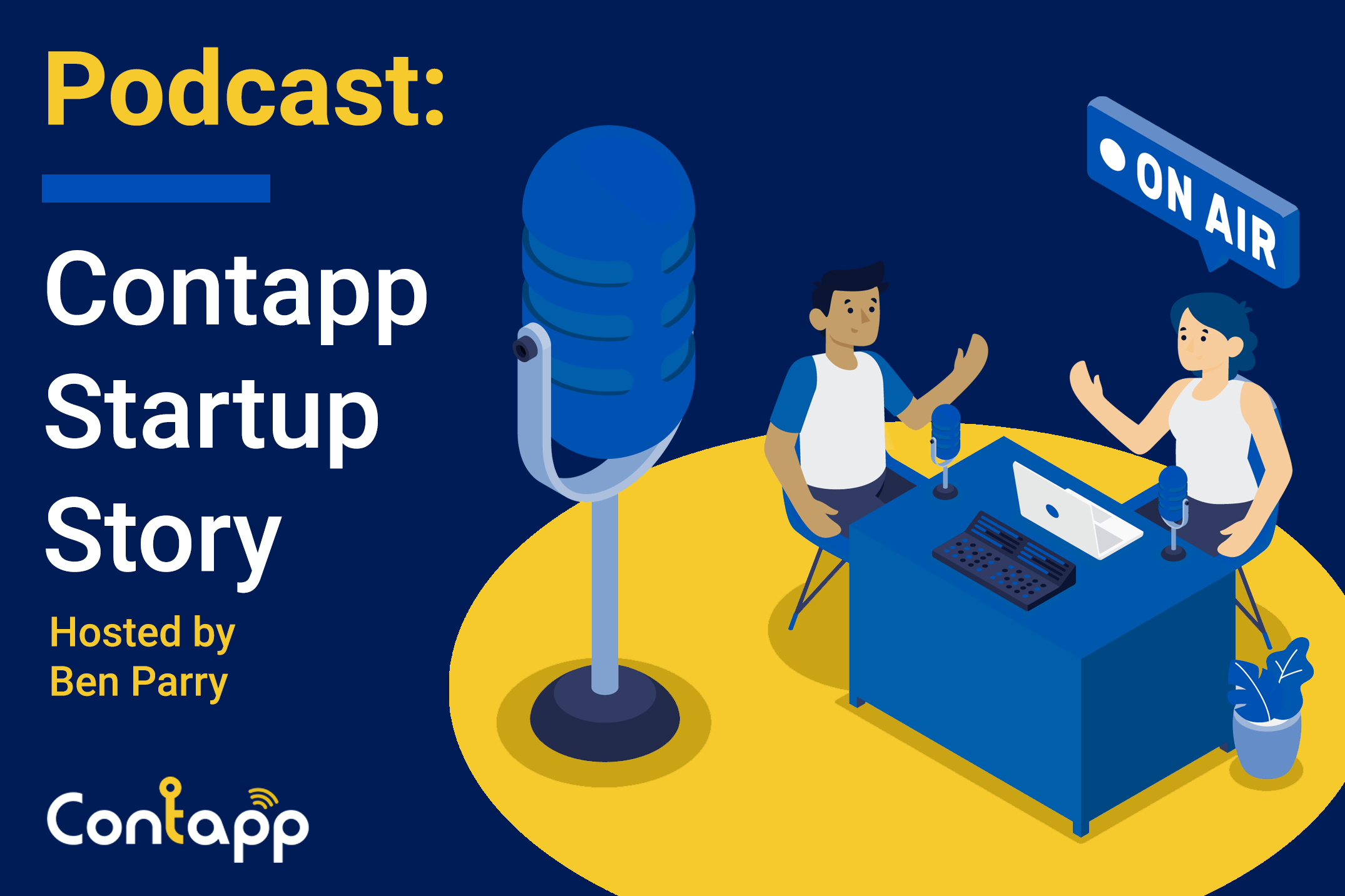 Contapp startup story podcast