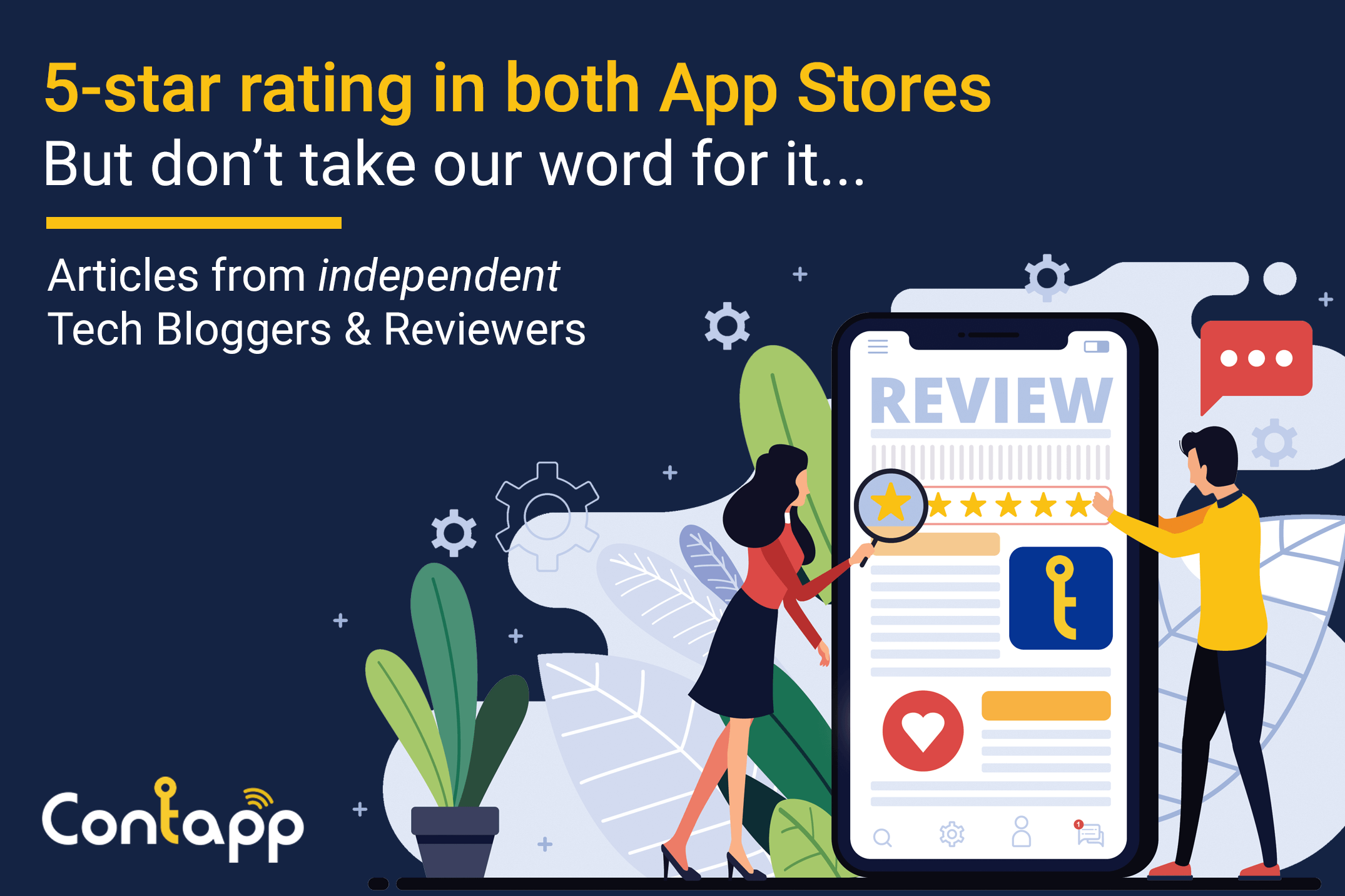 what bloggers and users say about Contapp business app