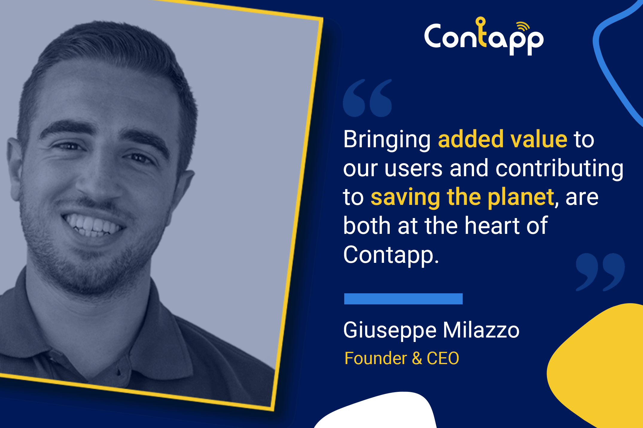 Contapp Founder & CEO - The Real Reasons Why I Started Contapp
